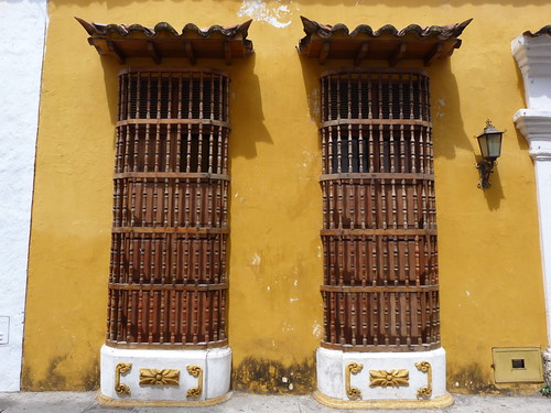 Ventanas que podrían ser de cualquier ciudad colonial
