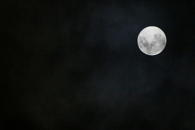The Full Moon on October 1st