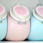 My gluten-free flour jars