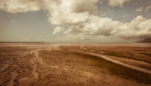 landscape cairns mudflats