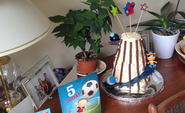 Helter Skelter Cake