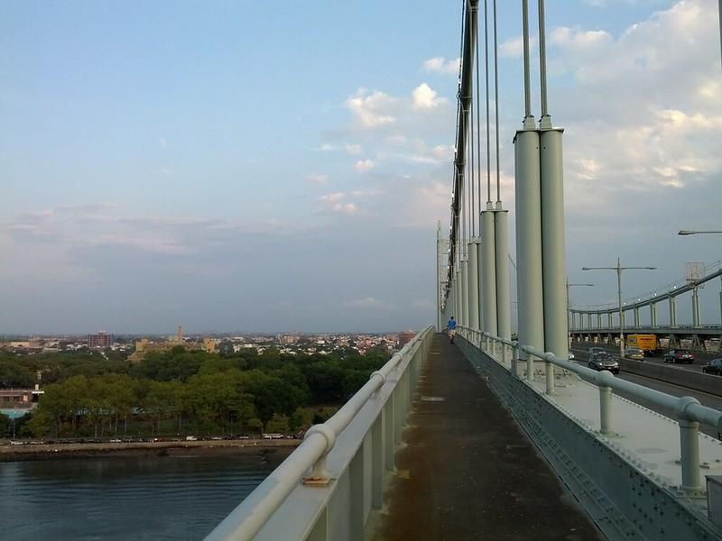 Pedestrian walkway across RFK Bridge to Queens