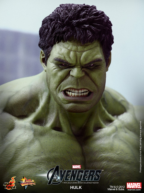 Hot Toys - The Avengers - Hulk Limited Edition Collectible Figurine_PR10