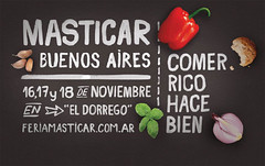 Feria gastronómica Masticar en Buenos Aires