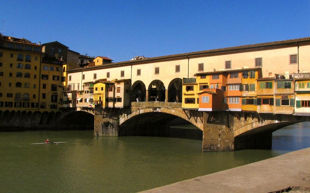 11º Día - Ponte Vecchio - Florencia, Italia