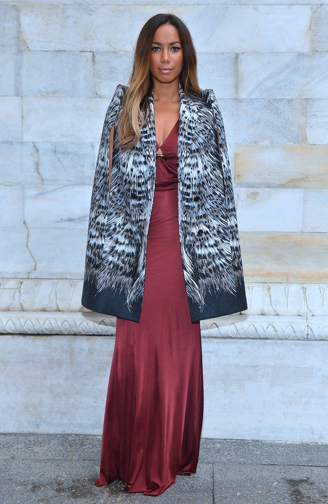 z3 Leona Lewis in Roberto Cavalli @ Roberto Cavalli Spring Summer 2013 Fashion Show 24-09-2012 Milan