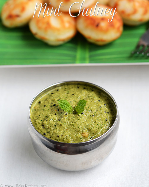 Mint-chutney-recipe-with-coconut