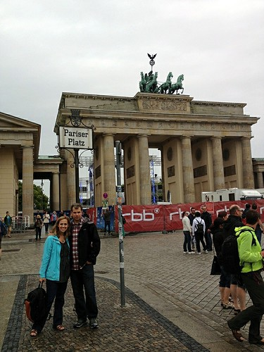 At Berlin's Brandenburg Gate