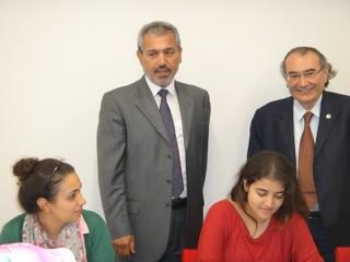 Abbas Güçlü Üsküdar Üniversitesi'ndeydi…