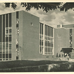 Law Center, the University of Iowa, 1962