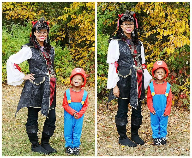 Mario and Mommy Pirate