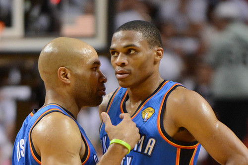 NBA: Finals-Oklahoma City Thunder at Miami Heat