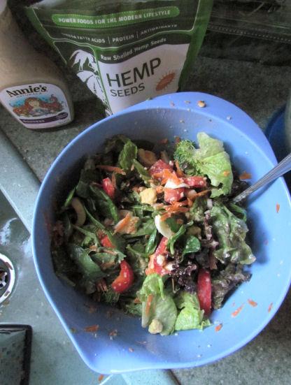 A Salad Mess