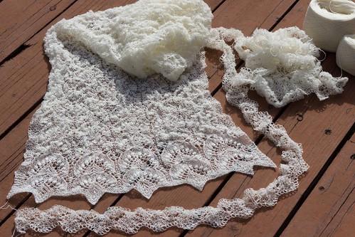 Haapsalu shawl & edging