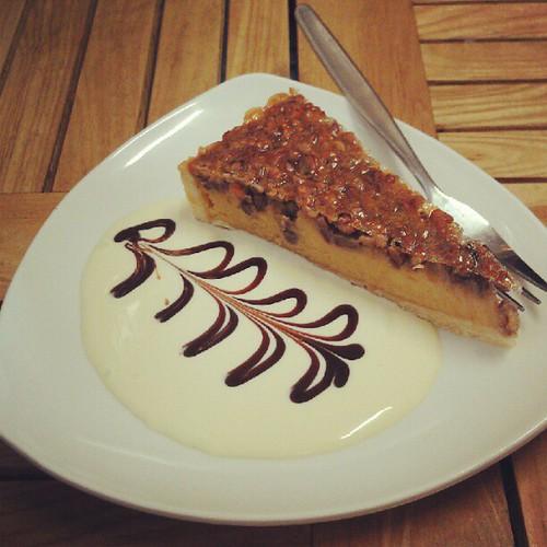 Pecan pie. Not mine, alas!