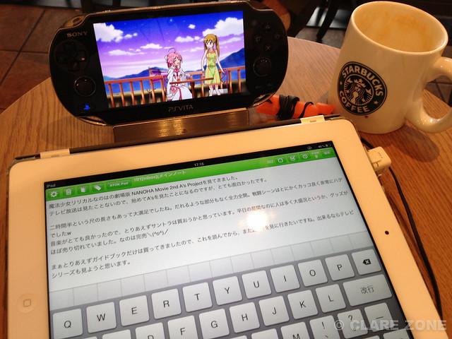 VITA +iPad