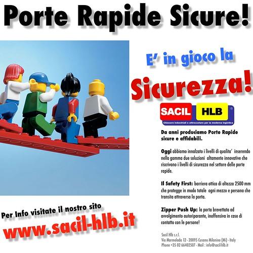 SACIL HLB PORTE RAPIDE SICURE ! Con il sistema Safety first il massimo della sicurezza !