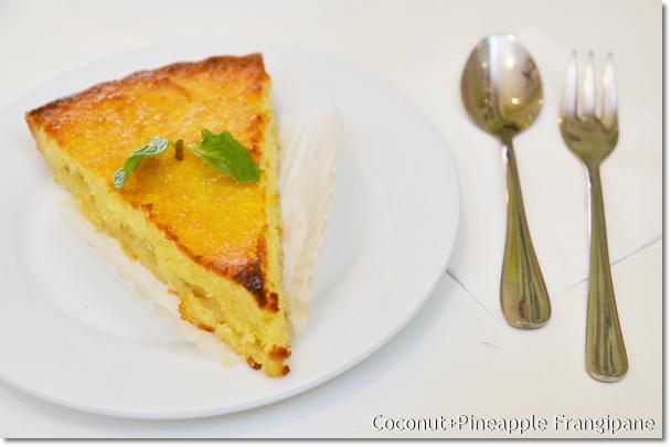Coconut & Pineapple Frangipane