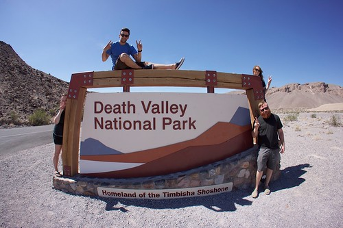 Group Shot at Death Valley