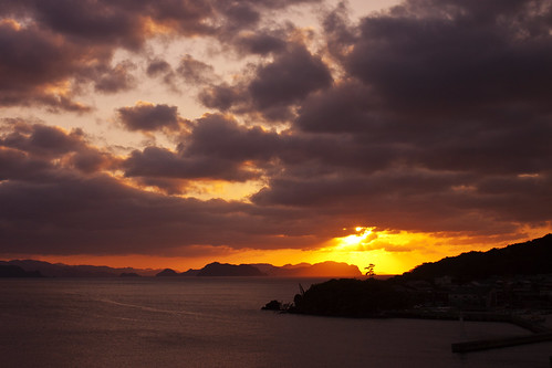 ocean sunset 萩 mygearandmepremium