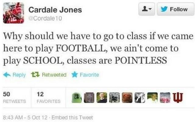 Cardale Jones Ohio State University Twitter
