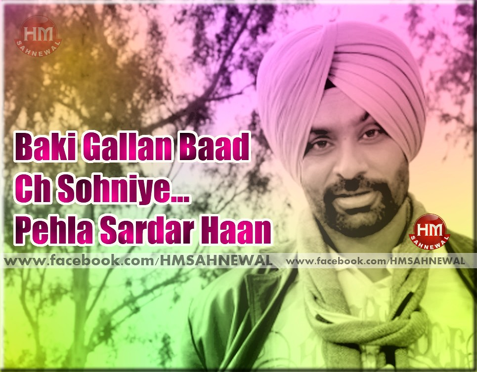 Babbu Mann Punjabi Singer Picture Wallpaper New 2012 2013 Sardar Singh Desi Photos
