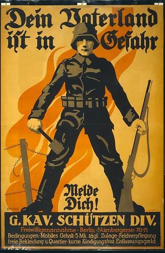 012-Tu patria esta en peligro alistate- Library of Congress