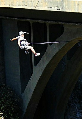 Yo hice Puenting con www.grancanariasaltoal vacio.com. Puente La Calzada ( 6-10-2012 ) Santa Brigida Gran Canaria