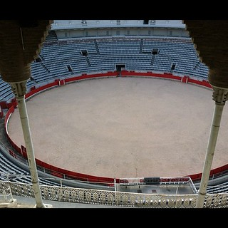 #kvpspain : Checking out #barcelona 's bullfighting ring. Woot! #fb