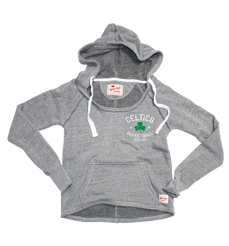 Boston Celtics Brooklyn Sweatshirt By Sportiqe Apparel