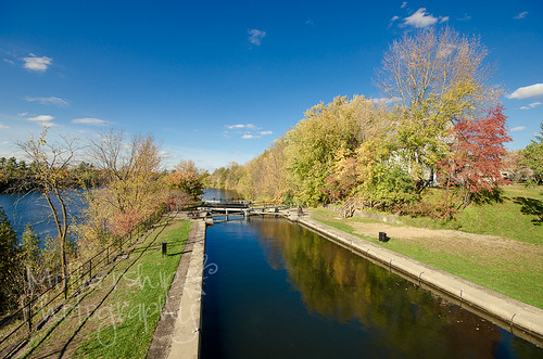 Long Island Locks in autumn