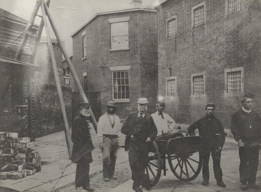 The House of Correction, Beverley 1863 (archive ref DDX734-4)