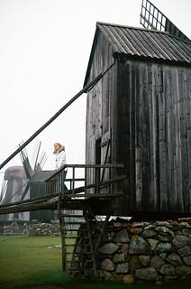 Windmills, Saaremaa island