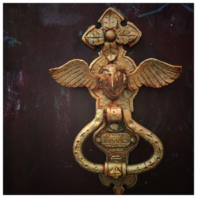 Door knob, St John