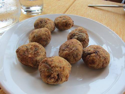 Aubergine Balls