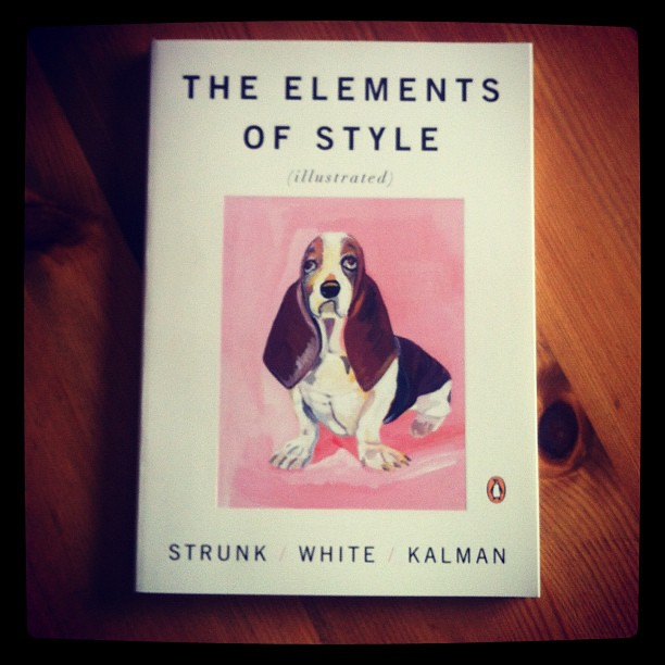 "290812_ new book: ""the elements of style"""