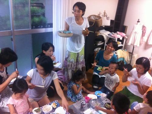 Dinner in Kumamoto