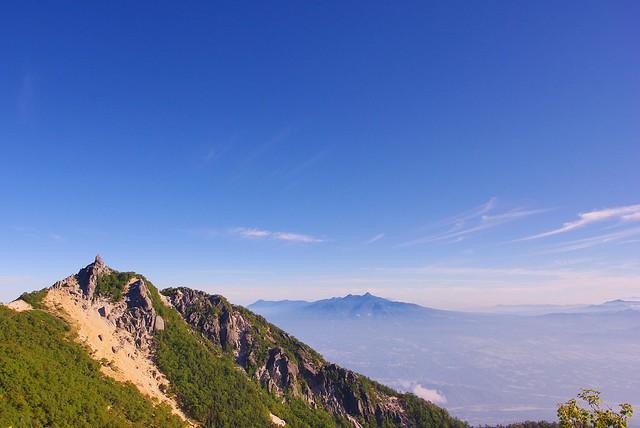 地蔵岳と八ヶ岳