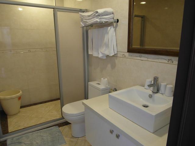 乾濕分離的浴廁 @杉板灣觀海 Villa