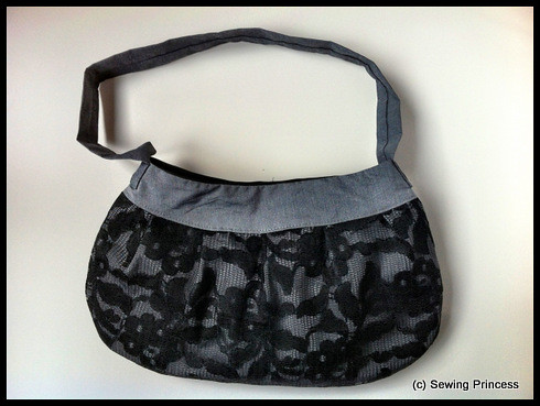 Lace Buttercup Bag