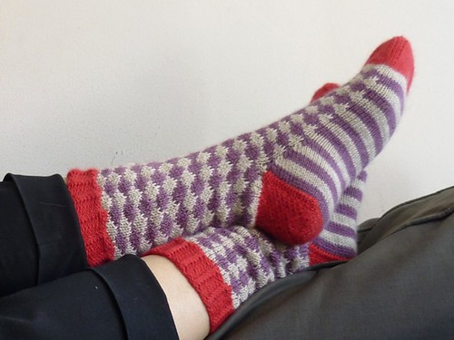 happy-go-lucky socks