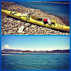 Friday morning kayak & open water swim.