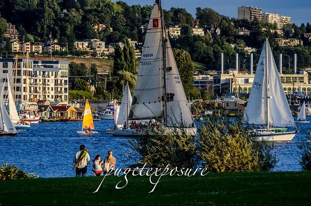 Evening Sail Lake Union