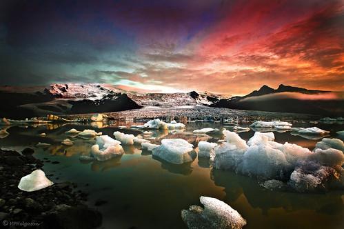 morning ice iceland lagoon glacier iceberg daybreak jökull ís lón morgunn öræfajökull fantasticnature ísjaki dagrenning coth5 hphson fjallsárjökull