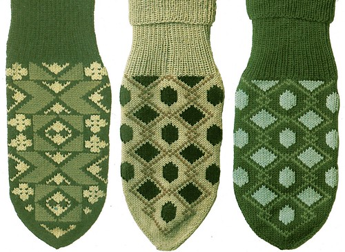 70s men's knitted socks