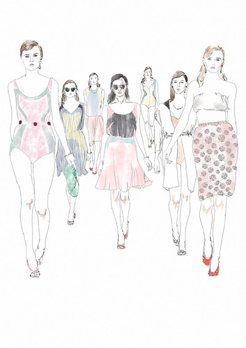 PRADA ELLE COLLECTIONS ILLUSTRATED