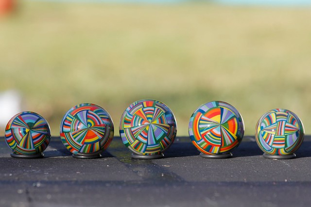 hollow marbles