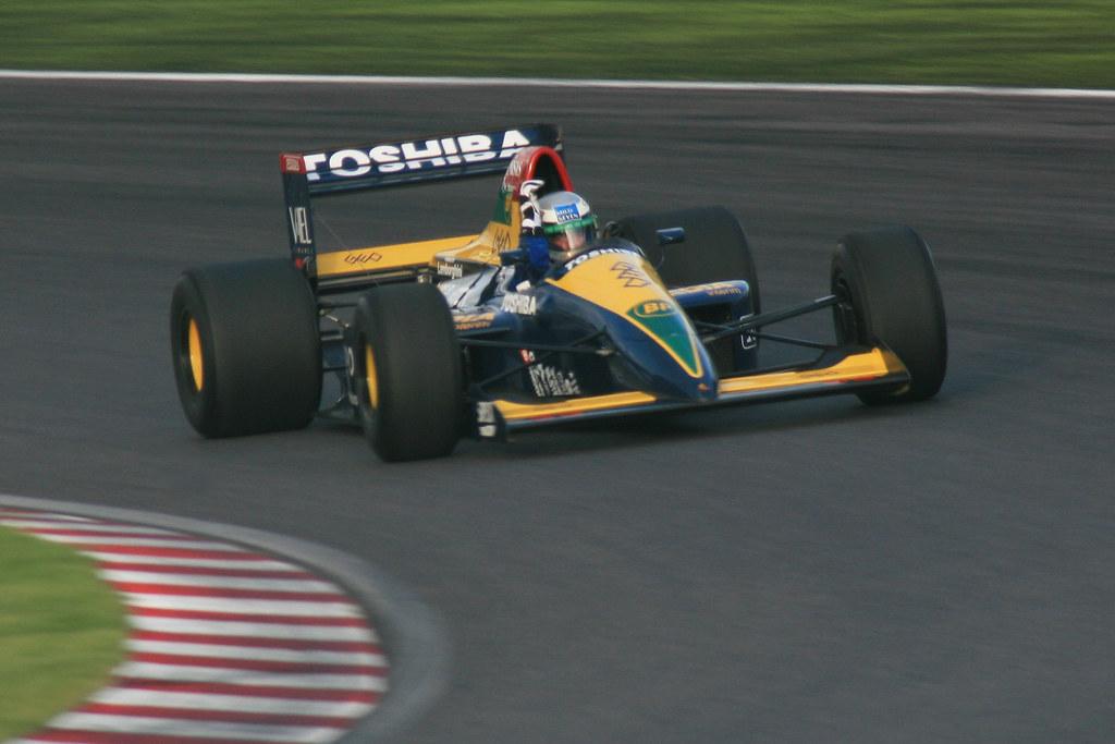 Larrousse LC90 - Alessandro Nannini