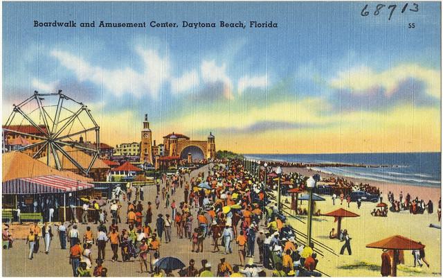 Boardwalk Amusement Daytona Beach Florida