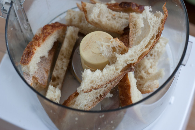 ground crusts bread